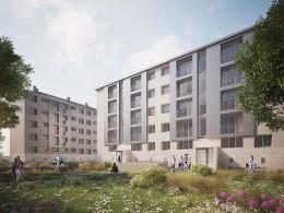 150 logements - Square du Vivier Corax