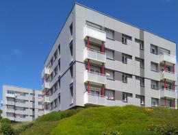 1 557 logements - 7 sites<br/>Conception Réalisation