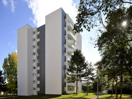 112 logements <br/> Square Léon Blum