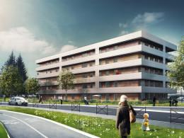 307 logements sociaux <br/>Résidence Bois Briard