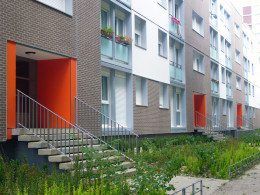 733 logements - Les Carreaux